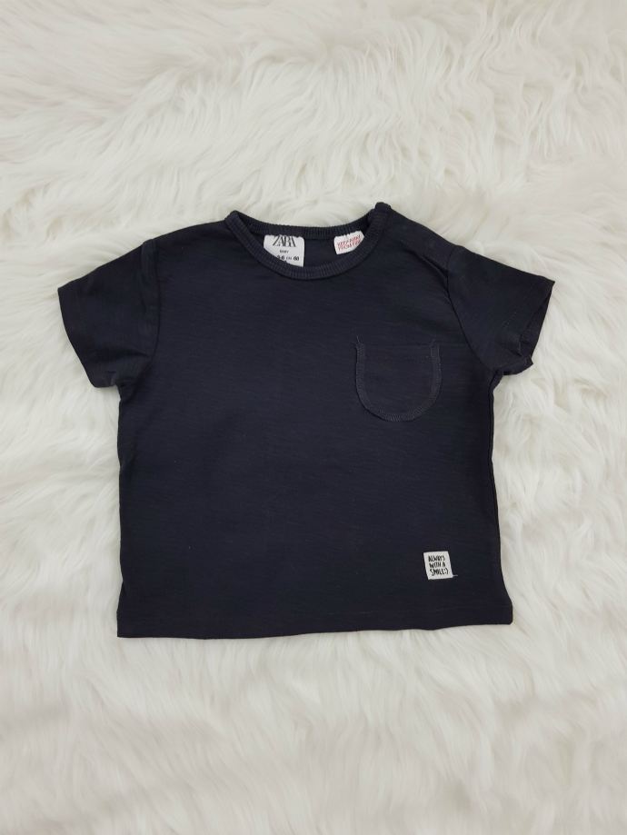 ZARA Boys T-shirt (BLACK) (3-6 Months To 3-4 Years)