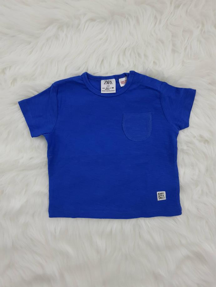 ZARA Boys T-shirt (BLUE) (3-6 Months To 3-4 Years)