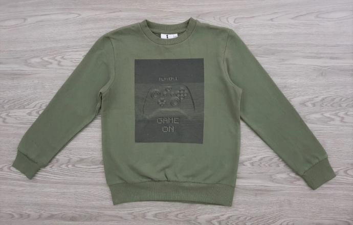 Mens Long Sleeved Shirt (GREEN) (XXS - XS - S - M - L - XL)