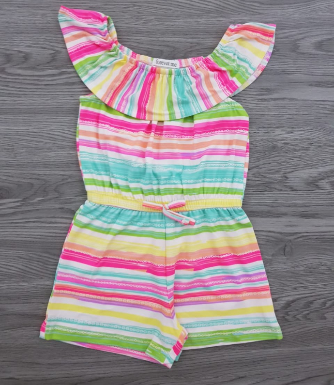 FOREVER ME Girls Romper (AS PHOTO) (2 to 6 Years)