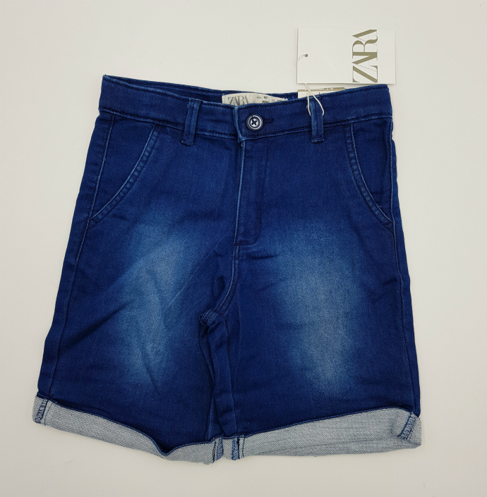 ZARA Girls Short (DARK BLUE) (18 Months to 7 Years))