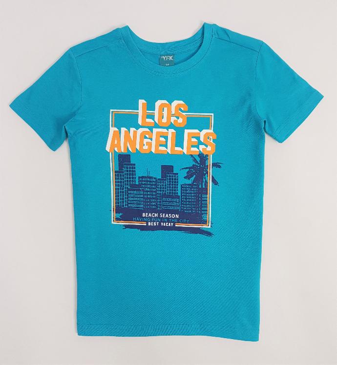 YFK Boys T-Shirt (BLUE) (7 to 14 Years)
