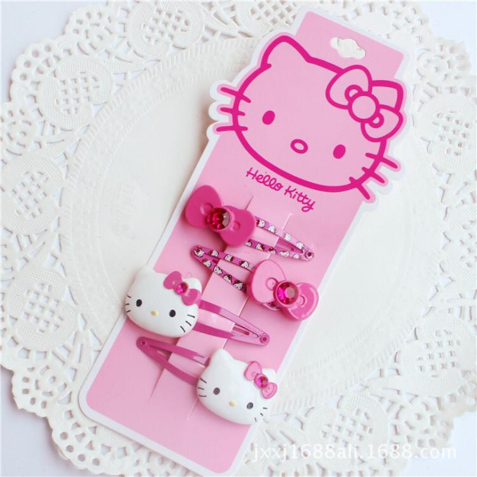 4 Pcs Pack Hair Accessories (PINK ) (ONE SIZE)