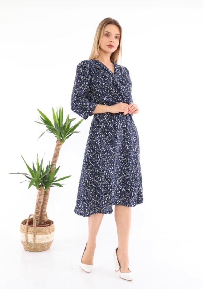 Ladies Turkey Dress (BLUE) (S - M - L - XL)