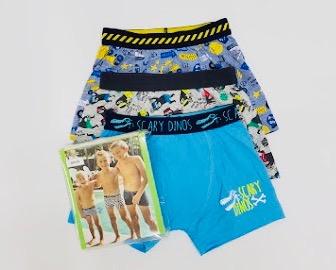 3 Pack Boys Underwear