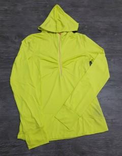Ladies Sweatshirt (TIC) (YELLOW) (XS - S - M - L )