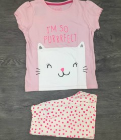 PM Girls T-Shirt And Shorts Set (PM) (5 to 8 Years)