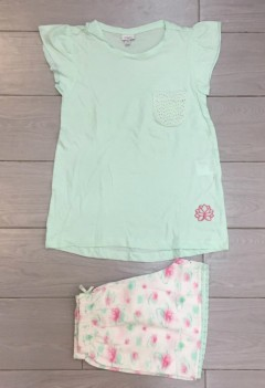 PM Girls T-Shirt And Shorts Set (PM) (8 to 12 Years)