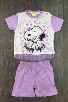 PM Girls T-Shirt And Shorts Set (PM) (12 to 24 Months)