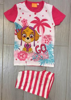 PM Girls T-Shirt And Shorts Set (PM) (4 to 6 Years)