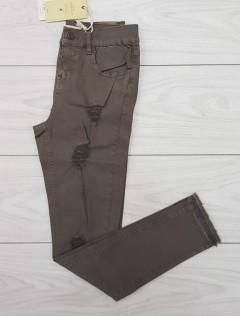 Shana Ladies Jeans (BROWN) (34 to 44)