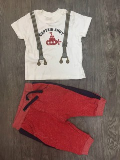 PM Boys Pyjama Set (PM) (NewBaby to 9 Months)