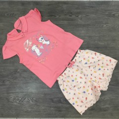 PM Girls T-Shirt And Shorts Set (PM) (6 to 7 Years)