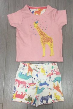 PM Girls T-Shirt And Shorts Set (PM) (2 to 8 Years)