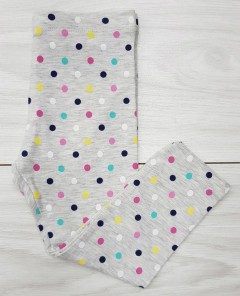 Girls Leggings (GRAY) (FM) (18 Months to 9 Years)