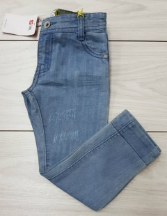 Girls Jeans (BLUE) (LP) (FM) (3 to 12 Years)
