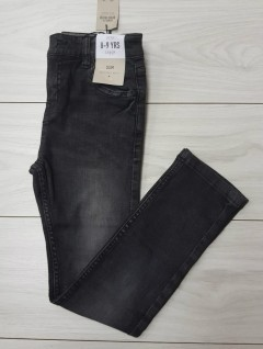 Boys Jeans (BLACK) (LP) (FM) (8 to 13 Years)