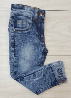 Girls Jeans (BLUE) (LP) (FM) (2 to 10 Years)