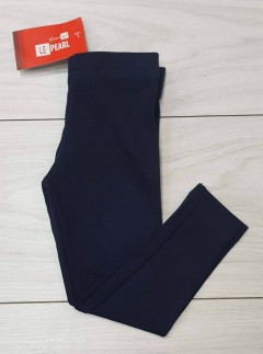 Girls Leggings (NAVY) (LP) (FM) (2 to 8 Years)