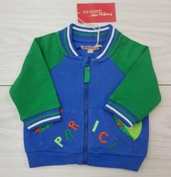 Boys  Sweatshirt (BLUE - GREEN) (LP) (FM) (3 to 18 Months)