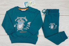 Boys Pyjama Set (BLUE - GREEN) (FM) (18 to 36 Months)