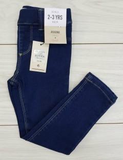 Girls Jeans (DARK BLUE) (FM) (2 to 7 Years)