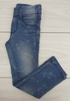 Girls Jeans (BLUE) (2 to 8 Years)