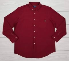 CLUB ROOM Mens Shirt (MAROON) (XL)