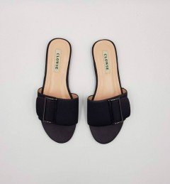 CLOWSE Ladies Sandals Shoes (BLACK) (36 to 41)