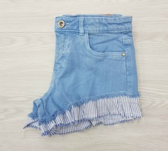 ZARA Girls Short (LIGHT BLUE) (8 to 10 Years)