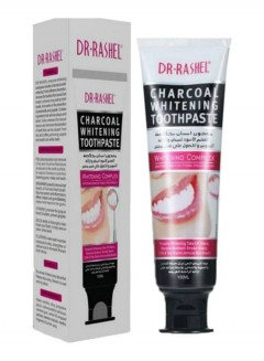 DR-RASHEL CHARCOAL Whitening Toothpaste whitening remove stains . fresh breath(100ml)(MA)