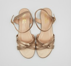 CLOWSE Ladies Sandals Shoes (CHAMPAGNE) (36 to 41)