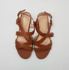 CLOWSE Ladies Sandals Shoes (CAMEL) (36 to 41)