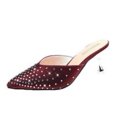 Ladies Shoes (CRIMSON) (36 to 38)