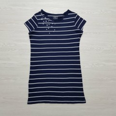 COLLECTION Girls Long T-Shirt (NAVY) (8 to 22)