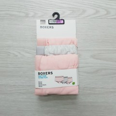 HEMA 3 Pcs Girls Boxer Pack (Random Color) (6 to 14 Years)
