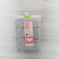 HEMA 3 Pcs Ladies Briefs Pack (Random Color) (S - M - L - XL)