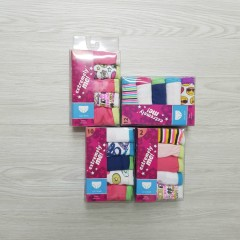EXTREMELY ME 5 Pcs Pack Girls Panty (RANDOM COLOR)( 2 to 12 Years)