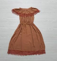 RED QUEEN Ladies Turkey Dress (BROWN) (S - M - L)