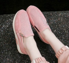 Ladies Sneakers Shoes ( PINK ) (36 to 40)