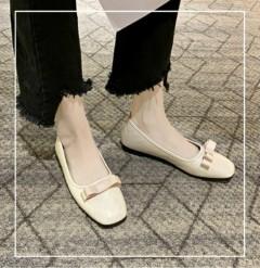 Ladies Shoes ( CREAM) (36 to 40)