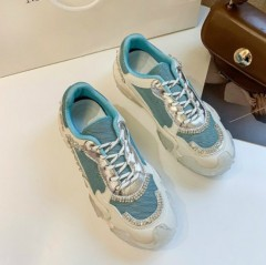 Ladies Sneakers ( BLUE ) (36 to 40)