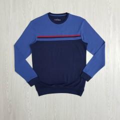CANDA  Mens  Sleeved Shirt (NAVY - BLUE) (S - M - L - XL)