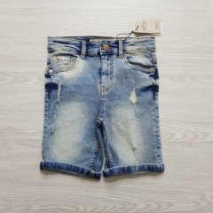 DENIM CO Boys Shorty  (BLUE) (7 to 15 Years)