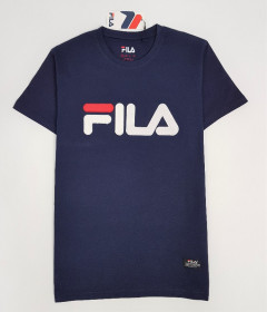 FILA Mens T-Shirt (NAVY) (S - M - L - XL)