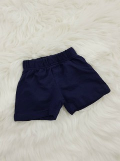 BASIC Boys Short (NAVY) (6 Months TO 18 Months)