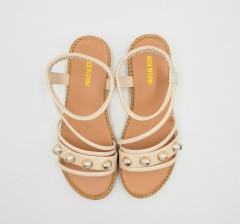 5 G FASHION Ladies Sandals Shoes (BEIGE) (36 to 40)