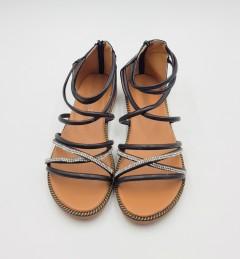 MEIXIN YUAN Ladies Sandals Shoes (BLACK) (36 to 40)