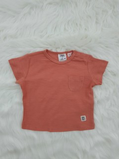 ZARA Boys T-shirt (ORANGE) (3-6 Months To 3-4 Years)