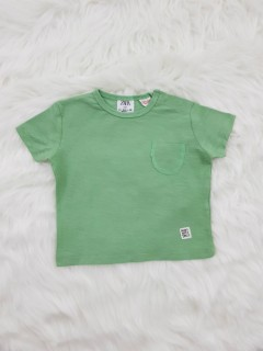 ZARA Boys T-shirt (GREEN) (3-6 Months To 3-4 Years)